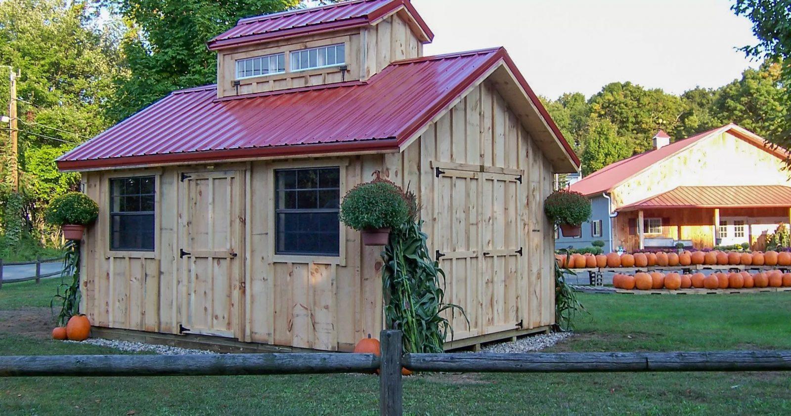 custom made sheds in framingham ma