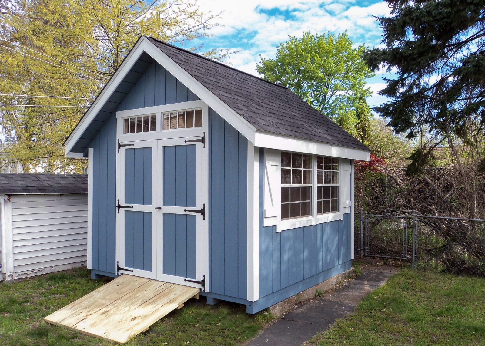 new england custom made sheds in massachusetts
