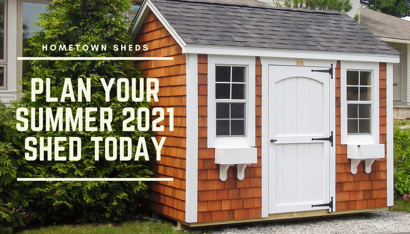 summer sheds at hometown structures
