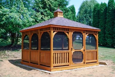 12x12 rectangular gazebo