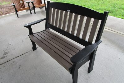 4' bench poly
