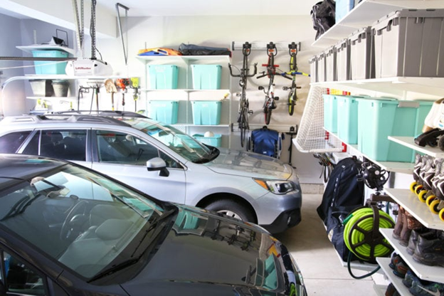 what can fit in a 2 car garage