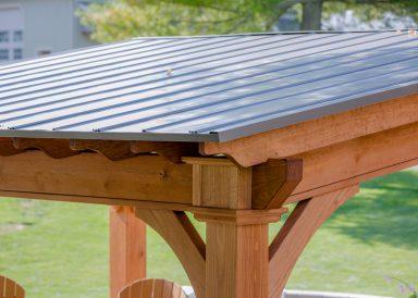 backyard pavilion roof