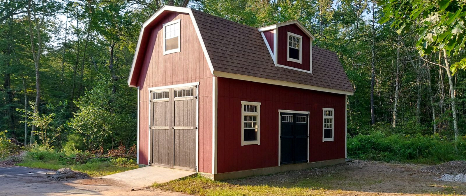 14x28 2 story shed barn