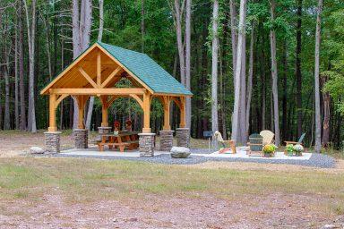 14x24 garden pavilion designs