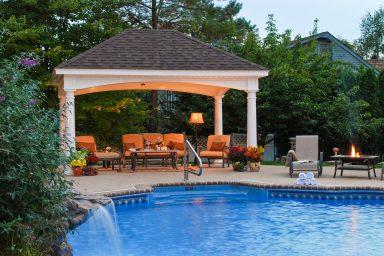 12x16 prefab pool pavilion