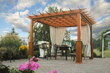 10x10 backyard classic pergola