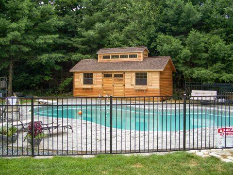 unique wooden shed