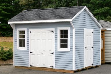 saltbox storage sheds