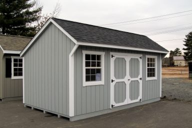 saltbox wood storage shed