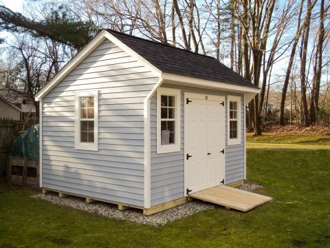 saltbox style shed