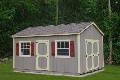 prefab yard sheds