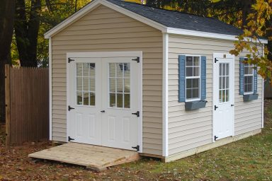 side yard storage shed