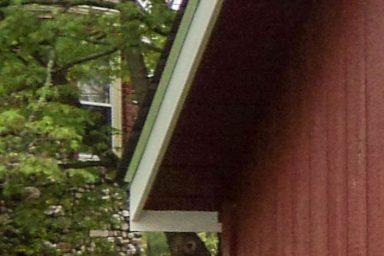 quaker sheds overhang