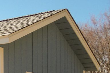 ranch shed overhang