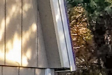 mini barn shed overhang