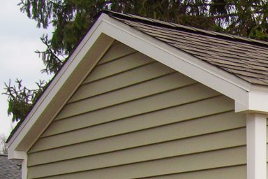 yard shed overhangs
