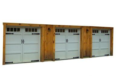 3 car garage doors