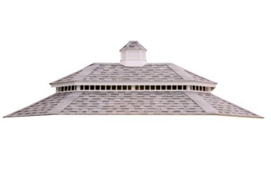 oval gazebo roof