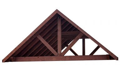 garden pavilion rafters