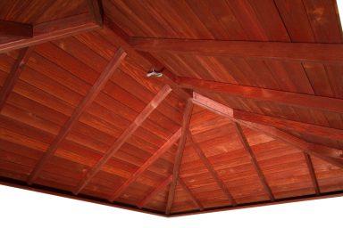 prefab pavilion rafters