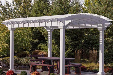10x14 arcadia outdoor pergola