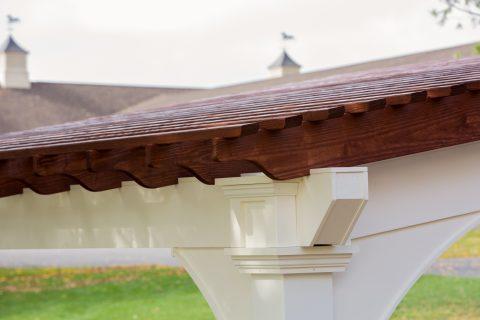 backyard pergola roof