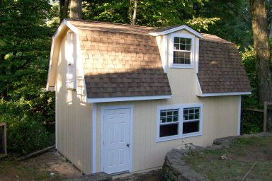 2 story barn shed