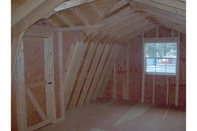 2 story shed upper level