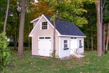 garden tool storage shed
