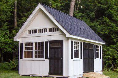 large garden sheds