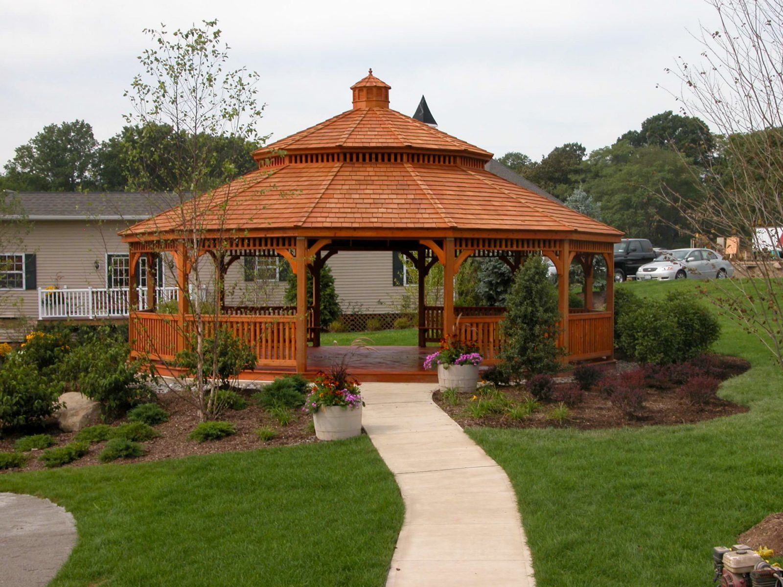 hard top gazebos on sale