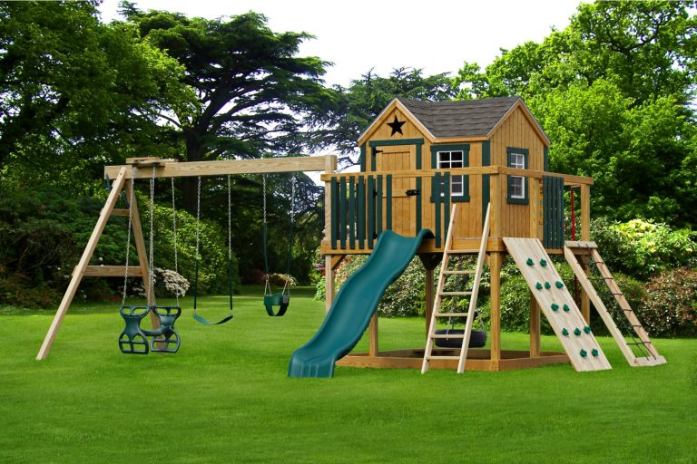 backyard leisure playsets