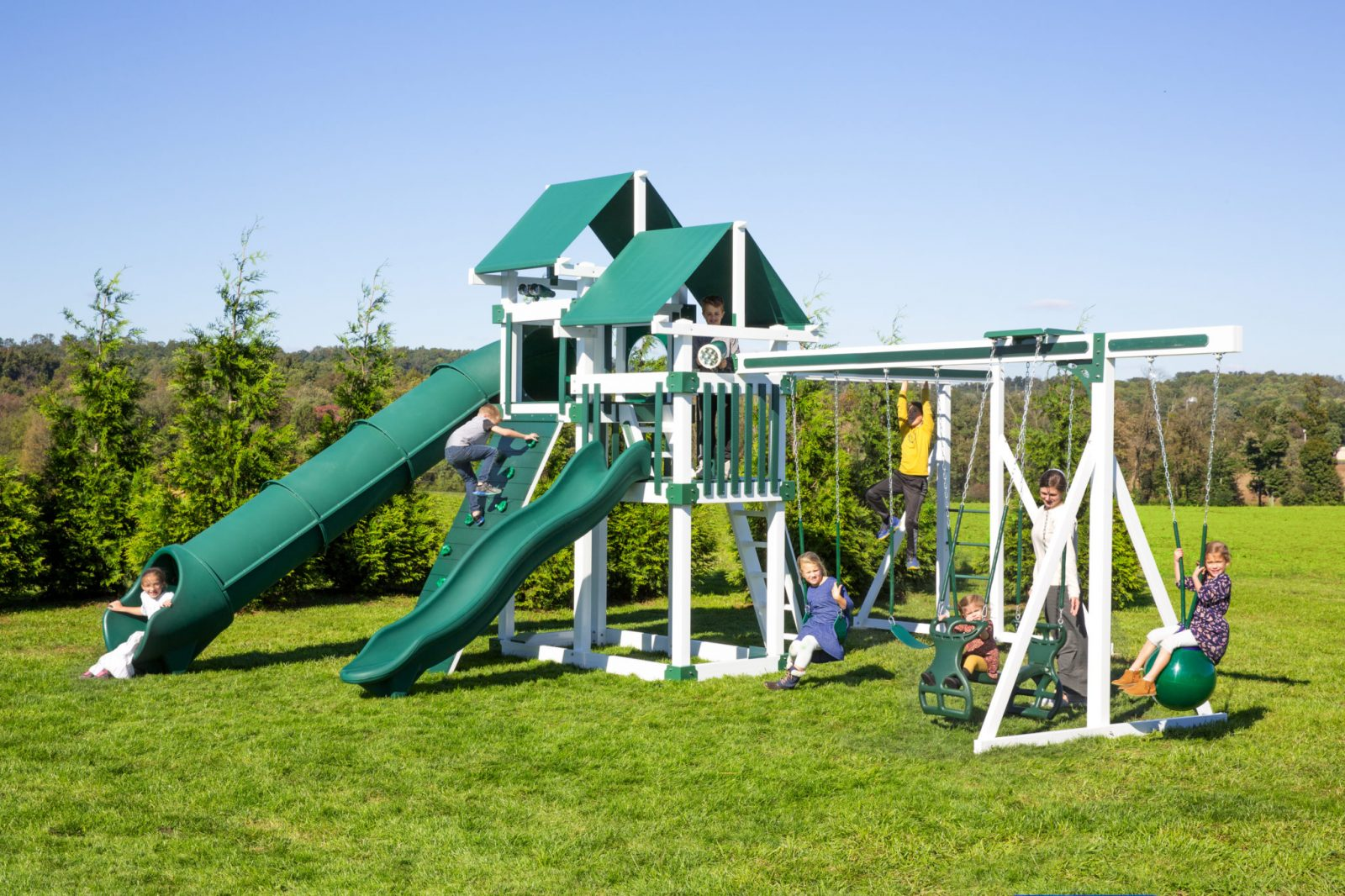 Backyard Playsets For Family Fun Get A Custom Playset Today