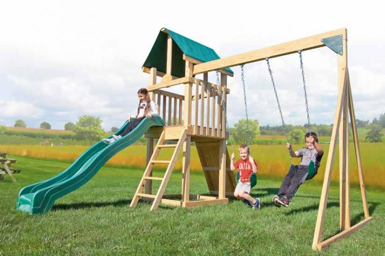 best backyard wooden playsets