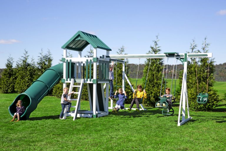 kids backyard playset