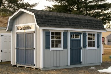 dutch barn roof shed