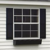 shed aluminum window 6 over 6 416x416