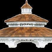 gazebo roof pagoda 300x186