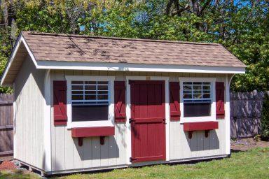 backyard quaker shed