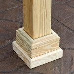 wood traditional pavilion post skirt e1449158818828 150x150