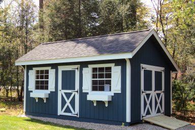 new england quaker shed