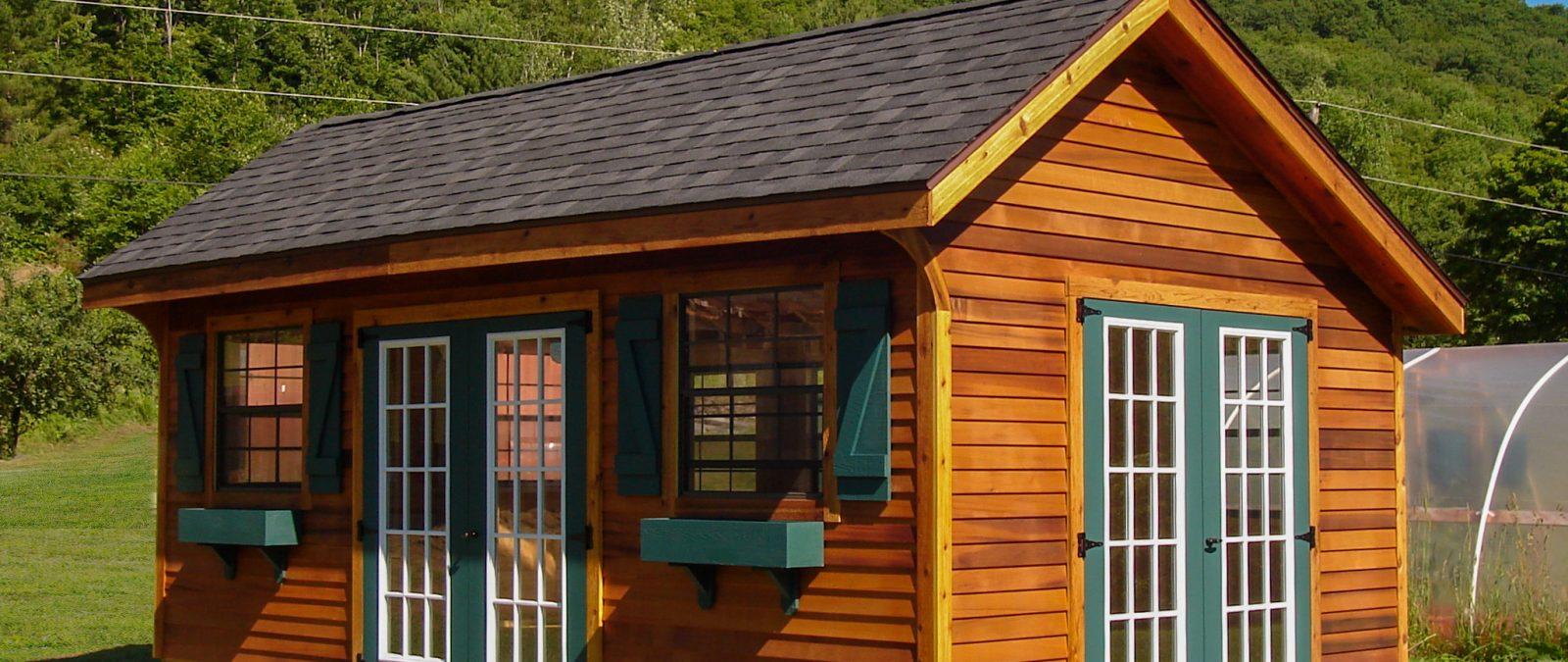quaker built sheds