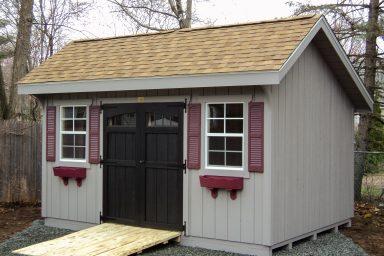 quaker garden shed