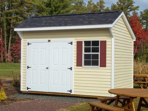 keystone quaker vinyl shed