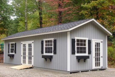 backyard office ranch shed