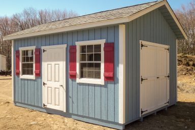 blue ranch shed