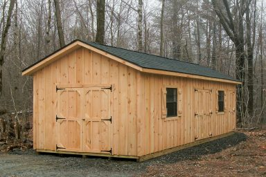 ranch shed for woods