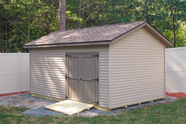 small vinyl ranch shed