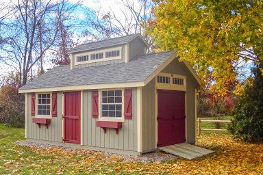 unique shed designs roof